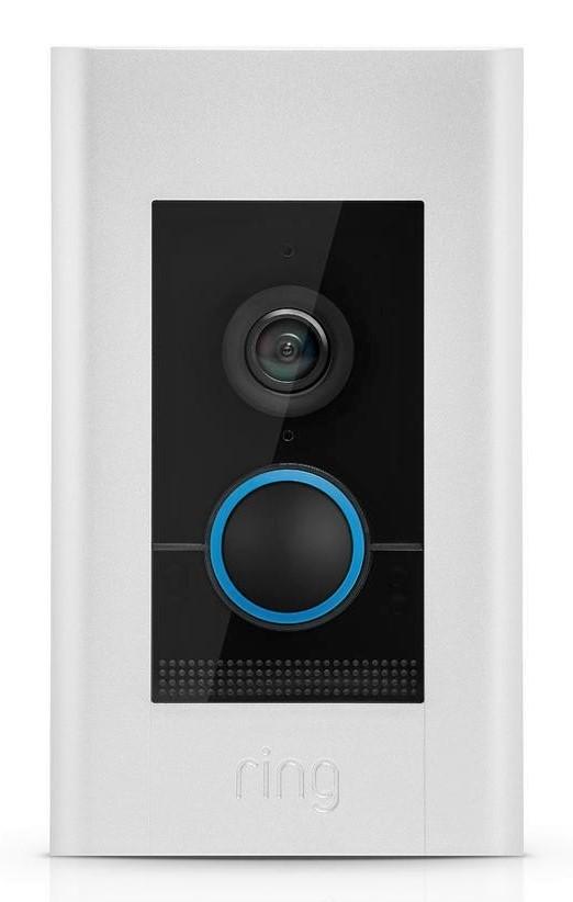 Brand New Ring Video Doorbell Elite Satin Nickel 852239005475 Ebay