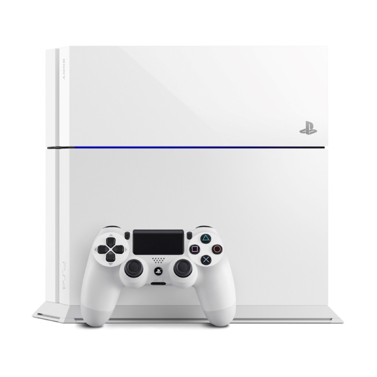 e12ee180625 Details about Sony PlayStation 4 500GB Console Only - Glacier White (No  Controller)