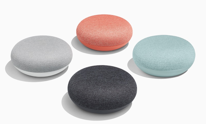 Brand New Google Home Mini Smart Speaker with Google Assistant All Colors