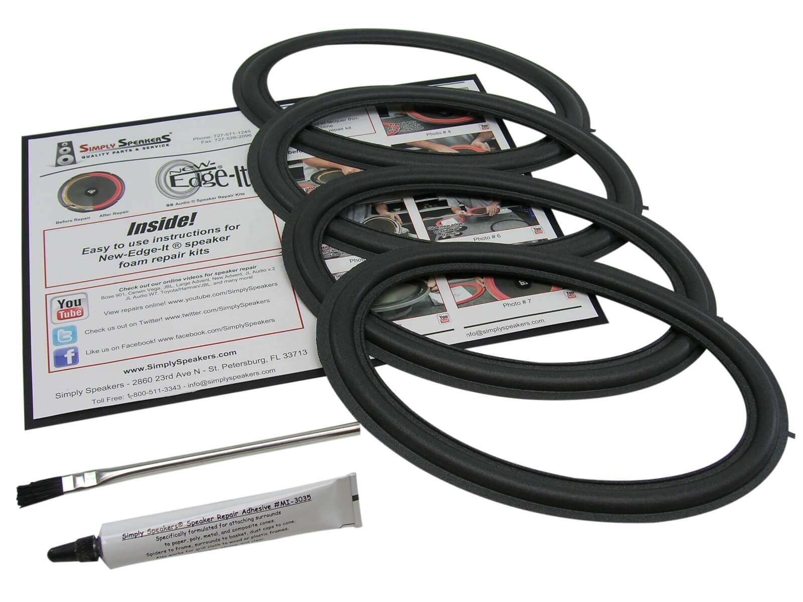 Speaker Repair Kit for Toyota Camry 6x9 JBL Woofer 4 Pack 86160 ...
